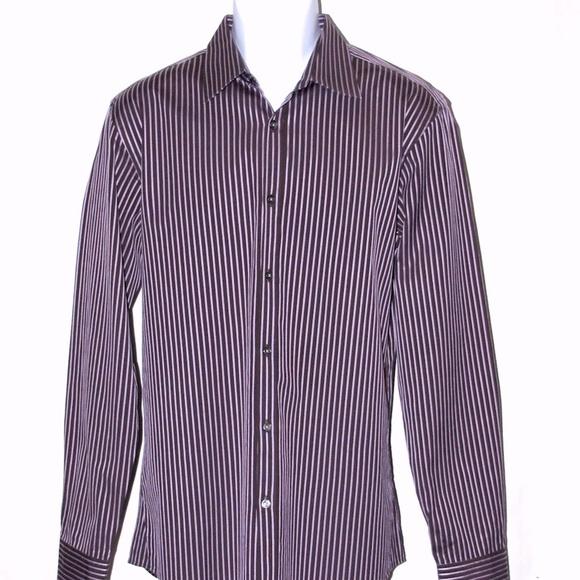 743714531 Hugo Boss Shirts | Mens Dress Shirt 16 3435 Slim Fit | Poshmark